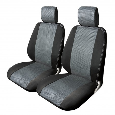 grey-mesh-truck-seat-covers-front