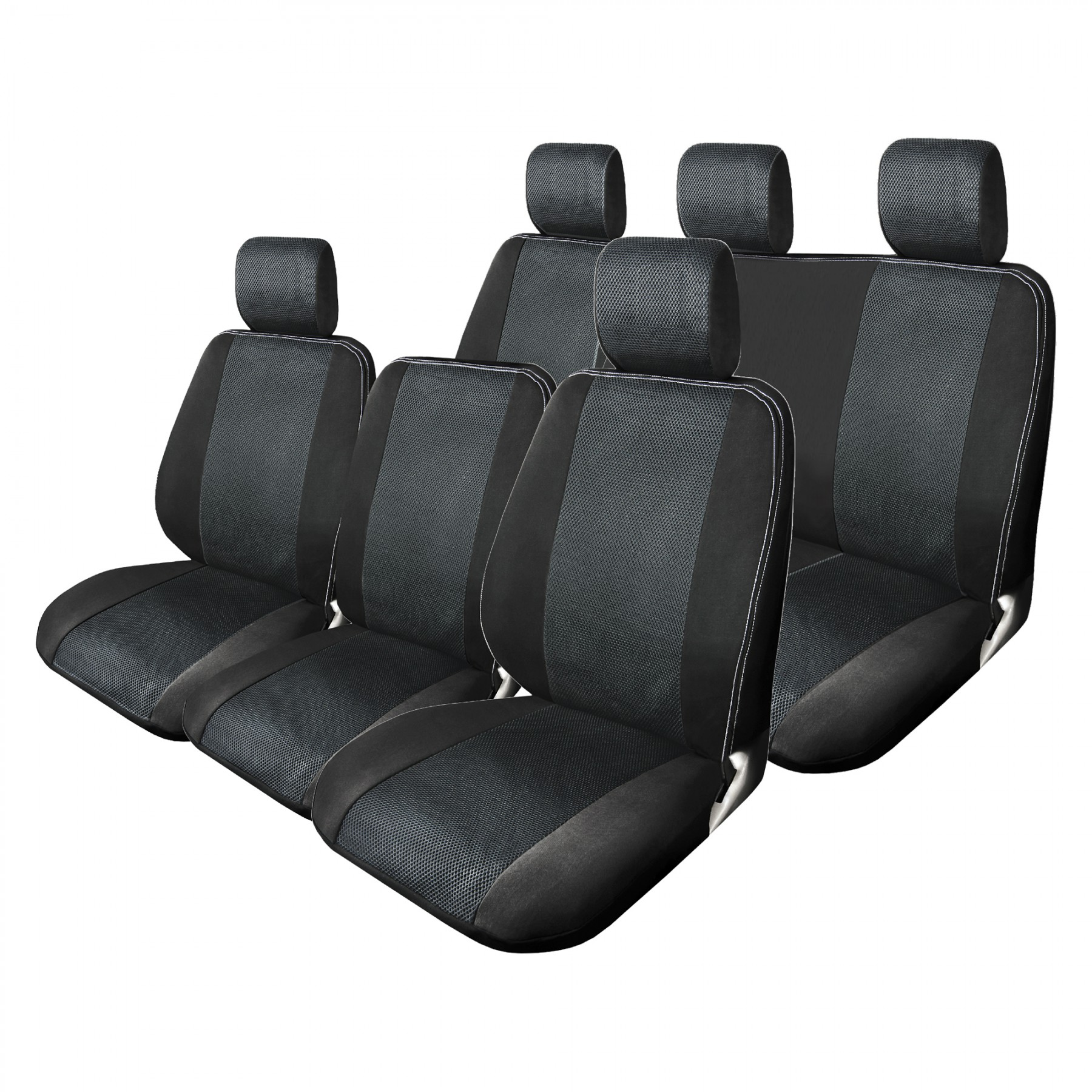 black mesh full set truck seat cover auto seat covers masque. Black Bedroom Furniture Sets. Home Design Ideas