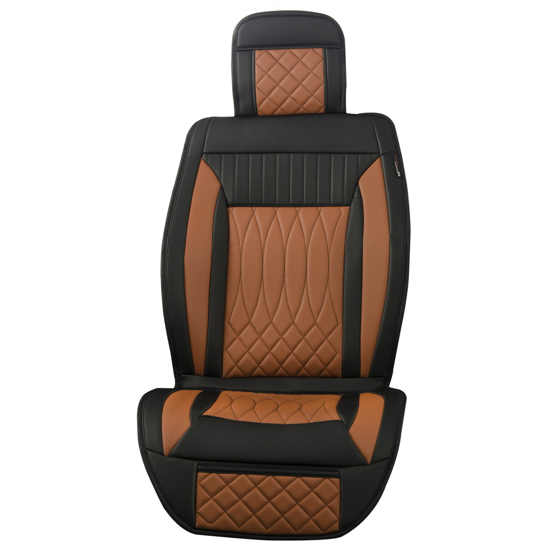 Luxury Series Brown Car Front Seat Cover Auto Seat