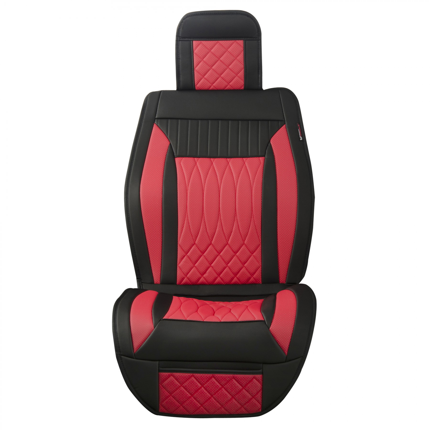 Luxury Series Red Full Set Car Seat Cover