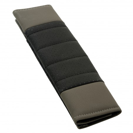 grey-black-seat-belt-pad