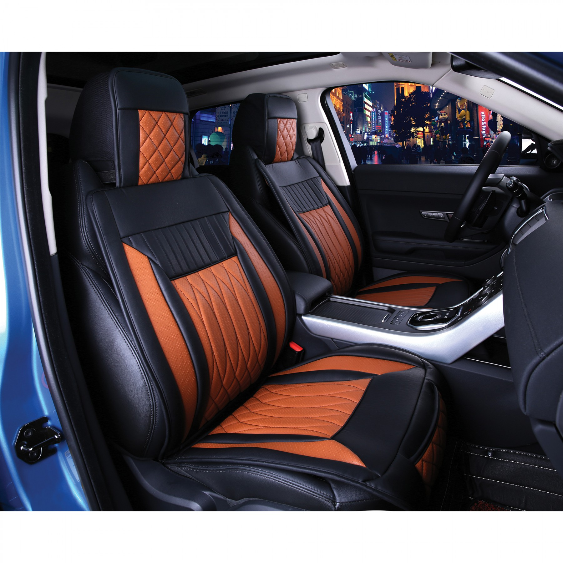 luxury series brown car front seat cover auto seat covers masque. Black Bedroom Furniture Sets. Home Design Ideas