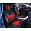 Red Black Front Car Seat Covers