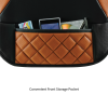 Brown Car Front Storage Pocket