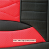 Red Car Seat Cover Material