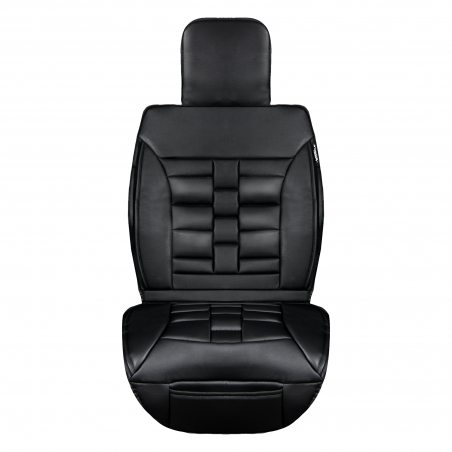 Luxury Series Black Front Seat Cover